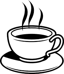 Coffee Clipart Black And White 830