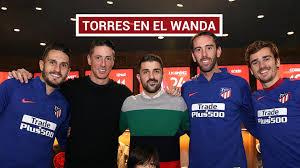 100 Torres Villa Y Visitas Sorpresa En El Entrenamiento Del Atltico