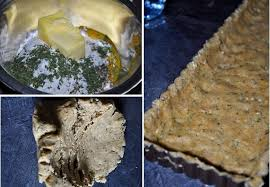 pâte à tarte salée à la farine semi complète recettes by hanane