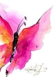 Watercolor Butterfly Art By Kathy Morton Stanion