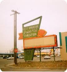 Spirit Halloween Spokane Jobs by East Sprague Drive In Theater Sign Spokane Wa Memories Spokane