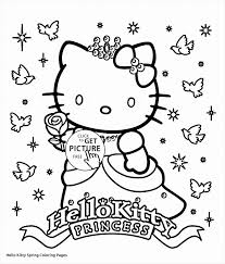 Christmas Kitten Coloring Pages Elegant Best Back To School Page Hello Kitty E6d