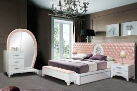 kral schlafzimmer weiss rosa