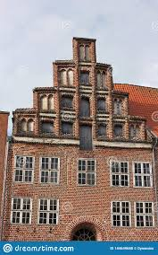 100 Architecture Gable Roofs In Lueneburg V Stock Photo Image Of