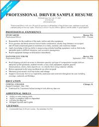 Tow Truck Driver Resume Best Of Professional Sample