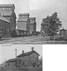 The Shed Lakefield Minnesota by Jackson County Minnesota Railroad Stations