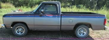 100 1988 Dodge Truck Ram D150 Pickup Truck Item E2141 SOLD Wednes