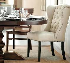 Pottery Barn Dining Room Chairs Chair Covers Arm