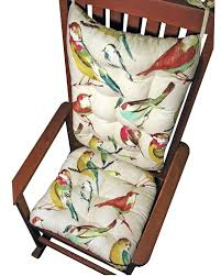 Song Bird Multi Rocking Chair Cushions - Latex Foam Fill ... Rocking Chair Cushions Ebay Patio Rocking Chair Ebay Sears Cushion Sets Klear Vu Polar Universal Greendale Home Fashions Jumbo Cherokee Solid Khaki Diy Upholstered Pad Facingwalls Llc Upc Barcode Upcitemdbcom Spectacular Sales For Standard Microfiber