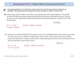 Sinking Fund Calculator Compounded Weekly by Prepared By Johnny Howard 2015 South Western A Part Of Cengage
