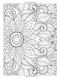 Coloring Books Flowers Download Floral Pages For Adults Adult Flower