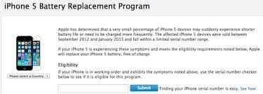 Apple s iPhone 5 Battery Replacement Program Live in Canada
