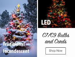 Consider One Of These Three Styles Lights For Your Tree