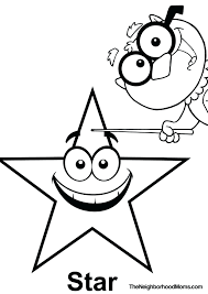 Shapes Printable Coloring Page Triangle Star Tracing Worksheets For 3 Year Olds Pages Toddlers Sheets