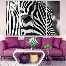zebra leinwand wand kunstdruck zebra fotografie wohnzimmer wand kunst leben poster dekor tier druck afrikanischen safari schwarz und weiß