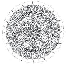 Free Mandala Coloring Sheets Center Yourself Mandalas Pages Pdf Online For Adults