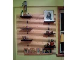 Ikea Mandal Headboard Diy by 30 Best Slat Walls Images On Pinterest Wood Slats Room Dividers