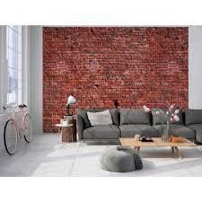 living walls fototapete klinker backstein 350 x 255 cm