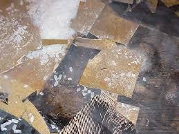 asbestos floor tile removal guidance photographs eh minnesota
