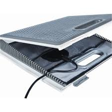 Laptop LapDesk™ with Storage AWE62US Silver Cooling Targus
