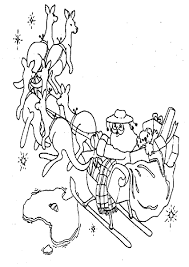 Christmas Coloring Pages Australia