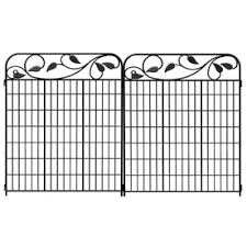 Decorative Garden Fence Home Depot by Shop Fence Panels At Lowes Com