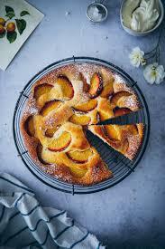 rezept für joghurt obstkuchen mit pfirsichen