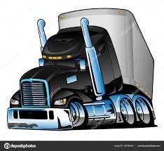 100 Semi Truck Pictures Trailer Cartoon Vector Illustration Stock Vector