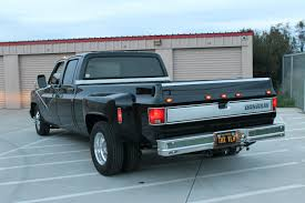 100 Dually Truck For Sale All Blacked Out 1984 Chevrolet C30 Silverado Crew Cab Pickup