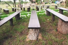 Backyard Wedding Seating