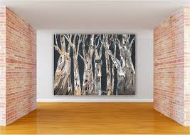 Canvas Wall Art For Dining Room by Long Wall Art Extra Large Canvas Print Gicleetree White