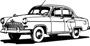 Classic Cars Clipart