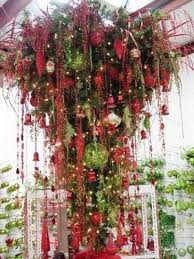 Upside Down Christmas Trees Is So Totally Cool If I Had The Space Would For Sure Do This