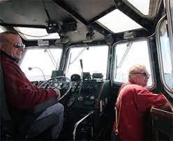 Tug Boat Sinks by Boston Pilot Boat Rescues Crew From Cold Water After Tugboat Sinks