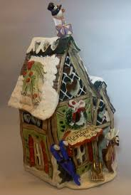 Spode Christmas Tree Cookie Jar Ebay by 43 Best Gingerbread House Cookie Jars Images On Pinterest