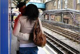 Kissing By The Train Tracks