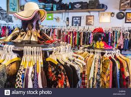 new york ny usa east village shopping vintage clothing store