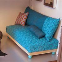 fabriquer un canapé en bois canapé de maison de poupée fabriquer un jouet loisirs créatifs