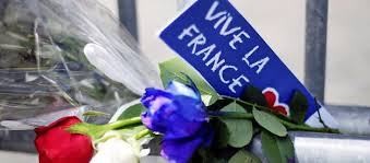 Flowers Are Seen Attached To A Fence Remember The Victims Of Bastille Day Truck Attack In Nice Front French Embassy Rome July 15 2016