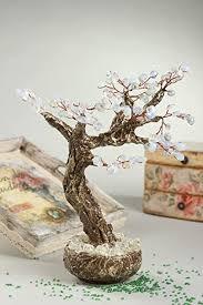 baum kunstlich handmade deko baum dekoartikel wohnzimmer