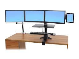 Lx Desk Mount Lcd Arm Cintiq by Ergotron Lx Sit Stand Desk Mount Lcd Arm Radius Office