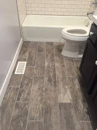 coastal farmhouse wood look tile flooring pool