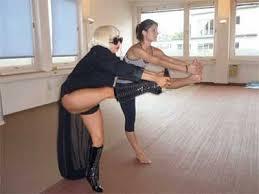 Bikram Yoga With Lady Gaga