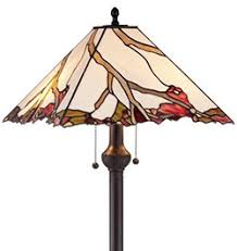 Tiffany Style Glass Torchiere Floor Lamp by Top 5 Tiffany Style Floor Lamps Reviews Peacock Lamps