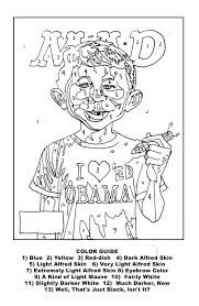 Number Coloring Pages For Kindergarten Sheets Preschoolers Color Numbers Adults Mad Paint Printable Halloween By