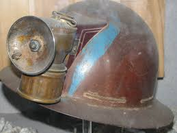Calcium Carbide Caving Lamp by Anybody Know Anything About This Helmet Made From A Bakelite Type