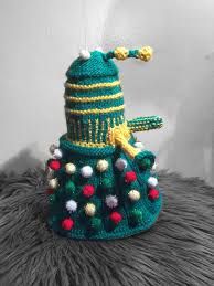 Make Dalek Christmas Tree by Confessions Of A Knitaholic It U0027s All About The Knits