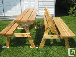 picnic table converts to bench best tables