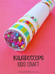 Looking For A Fun Kids Project Inspire Creativity With This Easy Homemade Kaleidoscope Craft Crafts Are The Perfect Low Cost Family Activity