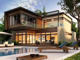 Great Facade Exterior Home Design Idea With Stunning Outdoor Pool ... Outdoor Patio Design Lightandwiregallerycom Spacious Nice House Popular Ideas Home Interior In Exterior India Myfavoriteadachecom Modern Outside Best Modern Homes Exterior Designs Views Gardens Ideas Wissioming Residence By 25 Wall Decorations On Pinterest Android Apps Google Play Decorations Backyard Party Decorating Classic With Halquist Stone Unique Natural Wall Decoration Paint Colour Photos Inspiration Us